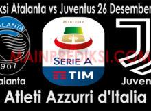 Prediksi Atalanta vs Juventus 26 Desember 2018