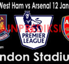 Prediksi West Ham vs Arsenal 12 Januari 2019