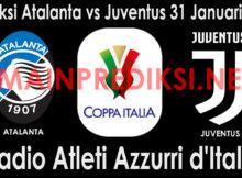 Prediksi Atalanta vs Juventus 31 Januari 2019