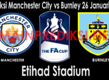 Prediksi Manchester City vs Burnley 26 Januari 2019
