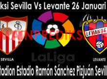 Prediksi Sevilla Vs Levante 26 Januari 2019