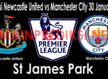 Prediksi Newcastle United vs Manchester City 30 Januari 2019