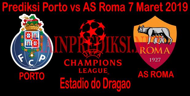 Prediksi Porto vs AS Roma 7 Maret 2019