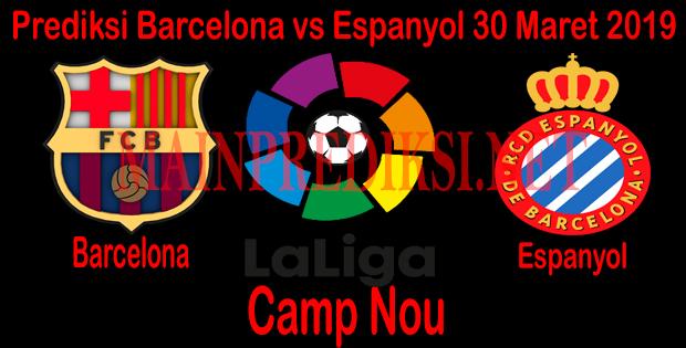 Prediksi Barcelona vs Espanyol 30 Maret 2019