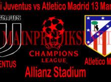 Prediksi Juventus vs Atletico Madrid 13 Maret 2019