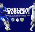 Prediksi Chelsea vs Burnley 23 April 2019