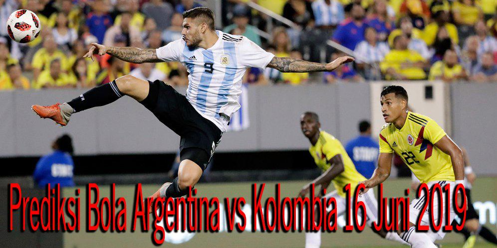 Prediksi Argentina vs Kolombia 16 Juni 2019