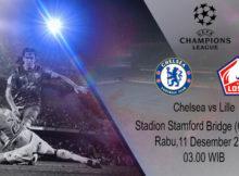 Prediksi Parlay Terbaik Chelsea vs Lille 11 Desember 2019