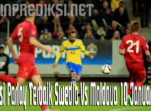 Prediksi Parlay Terbaik Swedia Vs Moldova 10 Januari 2020