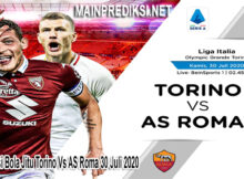 Main Prediksi Bola Jitu Torino Vs AS Roma 30 Juli 2020