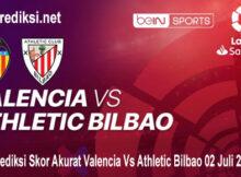 Prediksi Skor Akurat Valencia Vs Athletic Bilbao 02 Juli 2020