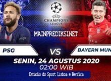 Main Prediksi Bola PSG Vs Bayern Munchen 24 Agustus 2020