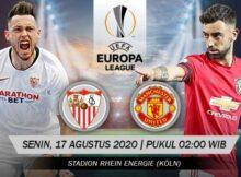Main Prediksi Bola Sevilla Vs Manchester United 17 Agustus 2020