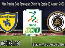 Main Prediksi Bola Terlengkap Chievo Vs Spezia 09 Agustus 2020