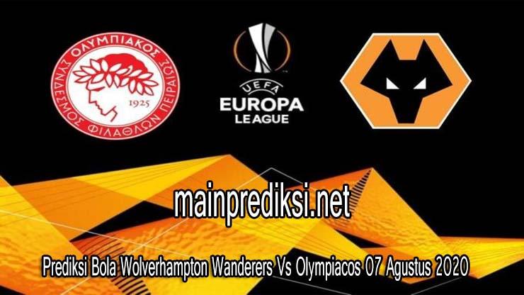Prediksi Bola Wolverhampton Wanderers Vs Olympiacos 07 Agustus 2020