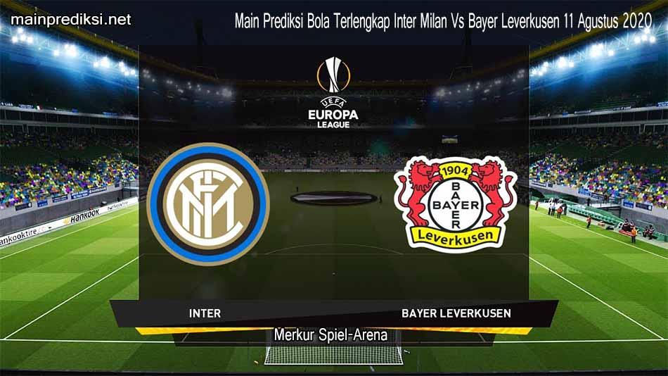 Main Prediksi Bola Terlengkap Inter Milan Vs Bayer Leverkusen 11 Agustus 2020