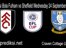 Main Prediksi Bola Fulham vs Sheffield Wednesday 24 September 2020