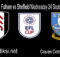 Main Prediksi Bola Fulham vs Sheffield Wednesday 24 September 2020