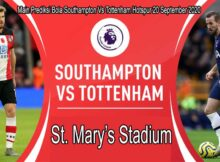 Main Prediksi Bola Southampton Vs Tottenham Hotspur 20 September 2020