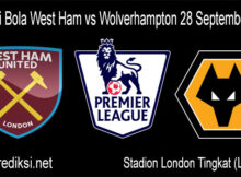 Prediksi Bola West Ham vs Wolverhampton 28 September 2020