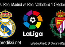 Prediksi Real Madrid vs Real Valladolid 01 Oktober 2020