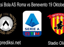 Prediksi Bola AS Roma vs Benevento 19 Oktober 2020