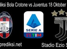 Prediksi Bola Crotone vs Juventus 18 Oktober 2020