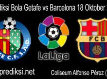 Prediksi Bola Getafe vs Barcelona 18 Oktober 2020