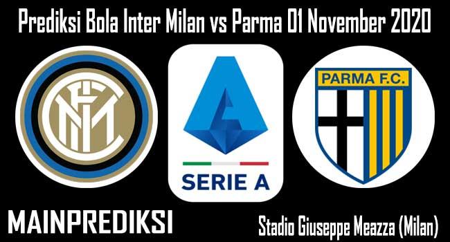 Prediksi Bola Inter Milan vs Parma 01 November 2020