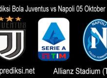 Prediksi Bola Juventus vs Napoli 05 Oktober 2020