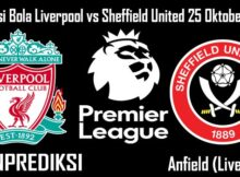 Prediksi Bola Liverpool vs Sheffield United 25 Oktober 2020