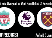 Prediksi Bola Liverpool vs West Ham United 01 November 2020