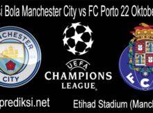 Prediksi Bola Manchester City vs FC Porto 22 Oktober 2020