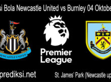 Prediksi Bola Newcastle United vs Burnley 04 Oktober 2020