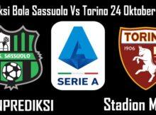 Prediksi Bola Sassuolo Vs Torino 24 Oktober 2020