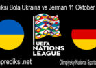 Prediksi Bola Ukraina vs Jerman 11 Oktober 2020