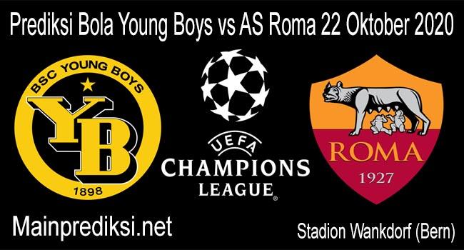 Prediksi Bola Young Boys vs AS Roma 22 Oktober 2020