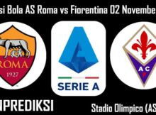 Prediksi Bola AS Roma vs Fiorentina 02 November 2020