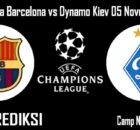 Prediksi Bola Barcelona vs Dynamo Kiev 05 November 2020