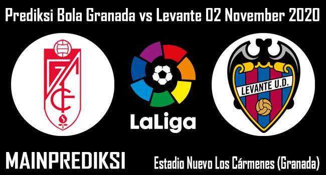Prediksi Bola Granada vs Levante 02 November 2020
