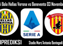 Prediksi Bola Hellas Verona vs Benevento 03 November 2020