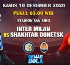 Inter Milan vs Shakhtar Donetsk 10 Desember 2020