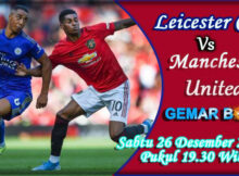 MAIN PREDIKSI LEICESTER CITY VS MANCHESTER UNITED 26 DESEMBER 2020