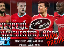 Main prediksi Liverpool vs Manchester United 17 Januari 2021