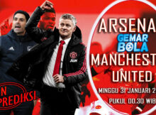 Main prediksi Arsenal vs Manchester United Minggu 31 Januari 2021