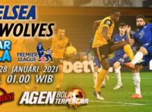 Main prediksi Chelsea vs Wolverhampton Kamis 28 Januari 2021
