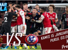 Main prediksi Arsenal VS Crystal Palace 15 januari 2021