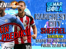 Main prediksi Manchester City vs Sheffield United Jumat 30 Januari 2021