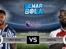 Main Prediksi West Brom vs Arsenal 3 Januari 2021