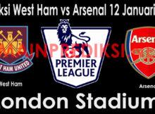 Prediksi West Ham vs Arsenal 12 Januari 2019
